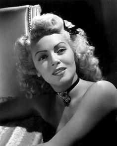 Lana Turner, circa 1940s.