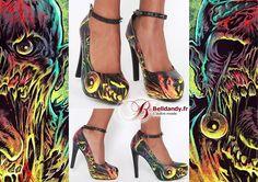 Chaussures Escarpins Gothique Glam Rock Pin-Up Zombie Carl  http://www.belldandy.fr/chaussures-escarpins-gothique-glam-rock-pin-up-zombie-carl.html https://www.facebook.com/belldandy.fr/photos/a.338099729399.185032.327001919399/10154827031399400/?type=3