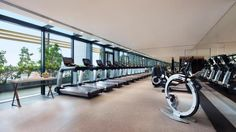 JW Marriott Hotel Singapore South Beach offers unrivaled luxury with accommodations, distinctive dining and designer amenities near Suntec City. South Beach Singapore, Dream Home Gym, South Beach Hotels, Beach Resorts, Hotel Gym, Luxury Spa, Luxury Hotels, Luxury Travel, Architecture Art Design