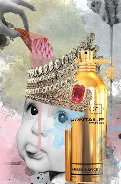 Unpublished work for the perfume MONTALE PARIS | Jenya Vyguzov #mixed_media #collage