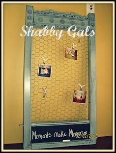 Shabby Gals: Chicken Wire Frame