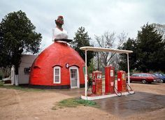 Natchez, Mississippi, 1983 Mammy's Cupboard (founded 1940) is a roadside r - The Independent