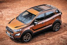 Ford EcoSport Storm variant with has been launched in Brazil. Expect the car to arrive in India later this year. It is based on top-end EcoSport. Ford Ecosport, Car Ford, Ford Trucks, Automobile Companies, Crossover Suv, S Car, Ford Focus, Art Cars, Product Launch