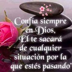 Frases Bonitas Para Facebook: Confia En Dios Mensajes En Imagenes