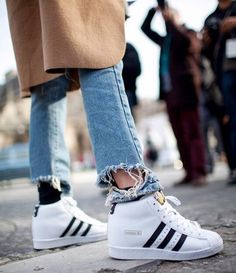 Adidas Superstar Up Shoes