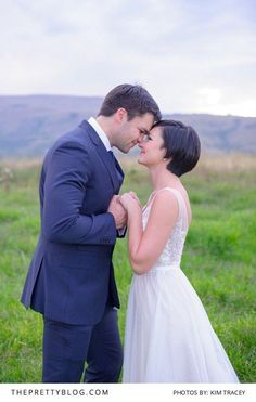 Less is More & Local is Lovely | Real weddings | Photograph by Kim Tracey Photography