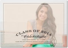 Sheer Overlay - Graduation Announcements - Hello Little One - Sand - Neutral : Front