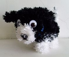 Hugo the Fluffy Puppy--I need to make this for Maelyn!!