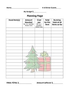 ON SALE thru 12/3: Holiday Dinner Math Project! Students plan and budget a holiday meal for their family. EXCELLENT practice with real-life math application! Gr. 3-8 appropriate