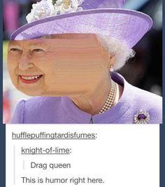 My version of drag queen...