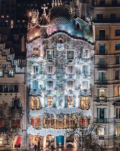 Casa Batlló de noche, BCN