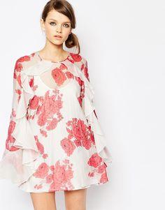 Изображение 1 из Шелковое платье с цветочным принтом Alice McCall Delilah