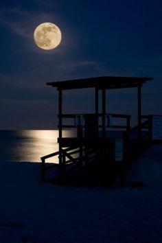 ilaurens: Moonlight Ocean - By: (David Pope)