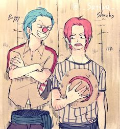 Buggy and Shanks!! I love both of them
