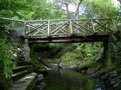 Puente sobre el Rio en Valvanuz