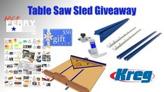 Enter To Win A Table Saw Sled/Miter Sled Combo!