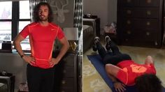 The Body Coach Joe Wicks takes the DailyMail.com through his Lean in 15 HIIT work-out.