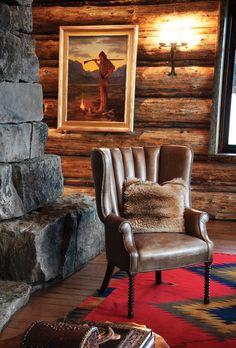 Lone Moose lodge, MT. Pearson Design Group. Lohss Construction.