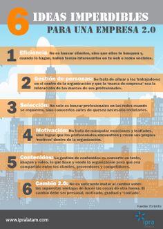 Consejos para una empresa 2.0 #ipralatam