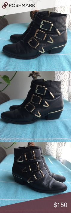 Spotted while shopping on Poshmark: VINCE CAMUTO Tipper Booties! #poshmark #fashion #shopping #style #Vince Camuto #Shoes