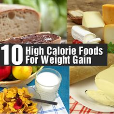 Top 10 High Calorie Foods For Weight Gain
