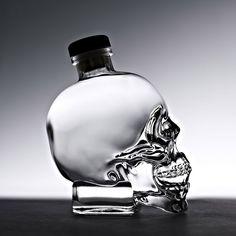 Crystal Head Vodka, 70 cl ( with Giftbox) Crystal Head Vodka, Alcohol Bottles, Liquor Bottles, Skull Vodka Bottle, Tequila, Gift Guide For Men, Premium Vodka, Ron, Christmas Gift Guide