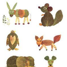 Leaf animals