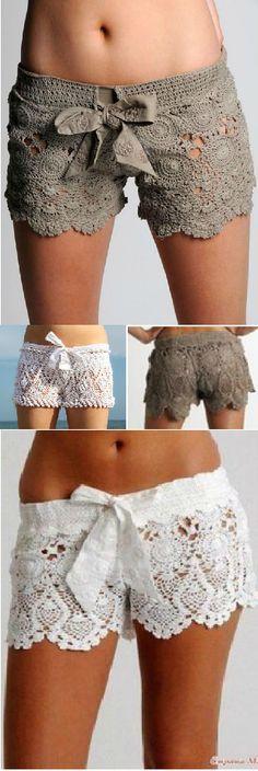 Crochet Summer Shorts