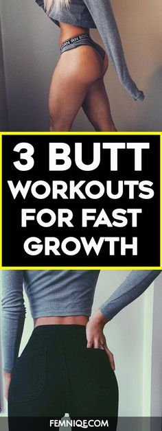 How To Get A Bigger Butt Using Weights - These butt exercises with weight will help to trigger your glutes to grow bigger, rounder and firmer. If you are doing any bigger butt workouts then you need t (Health And Fitness Clothes) Fitness Workouts, Fitness Motivation, Butt Workouts, At Home Workouts, Workout Routines, Workout Videos, Body Fitness, Health Fitness, Usa Health