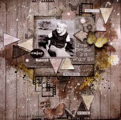 A window to my scrapping world: June/July Challenge 7 Dots Studio.... by Rachael Funnell