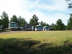 Hot Springs KOA is big rig friendly with long pull through sites and 50 amp service.