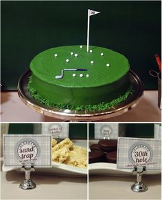 Golf Lovers Party Birthday Cakes Themed 30th
