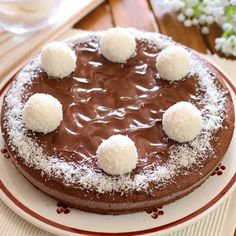 TORTA SOFFICE TARTUFINA   Fatto in casa da Benedetta Sweet Desserts, Vegan Desserts, Sweet Recipes, Mini Tortillas, Ricotta, Baking Bad, Cheesecake, Cooking Cake, Cranberry Bread