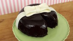 Hi guys! This chocolate ganache bow cake is soo yummy, and the fondant bow adds a nice touch :-) It would also make a great treat for Valentine's Day too! I ...