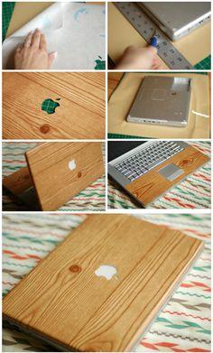 Wooden laptop case/document case Handmade by Woodandworld on Etsy ...