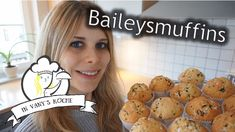 Baileysmuffins - Thermomix® - Rezept von Vanys Küche Eggs, Cookies, Breakfast, Desserts, Youtube, Thermomix, Backen, Quick Recipes, Finger Foods