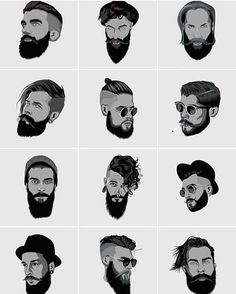 """Which one would you choose?______________________________________________ Hashtag us #Beardstylesmenn and also tag us @beardstylesmenn for shoutout in…"""