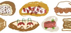 The Guide to Chinese Sandwiches ~ Earlier this year, based on evidence of a two-thousand-year-old sandwich (rou jia mo) from Shaanxi Province, Chinese media outlets began asserting that the burger, that most iconic of American foods, had in fact been invented in their country. #Chinese_Sandwiches #Lucky_Peach