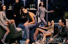 Valentino FALL1999. Audrey Marnay,Isabeli Fontana,Gisele Bundchen and Aurelie Claudel.