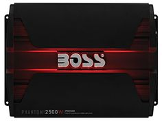 BOSS AUDIO PM2500 Phantom 2500-Watt, 2/4 Ohm Stable Class A/B Monoblock Car Amplifier with Remote Subwoofer Control. For product info go to:  https://www.caraccessoriesonlinemarket.com/boss-audio-pm2500-phantom-2500-watt-24-ohm-stable-class-ab-monoblock-car-amplifier-with-remote-subwoofer-control/