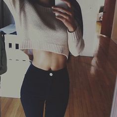 jeans trendy sweater cropped sweater tan sweater