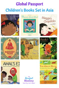 Take kids on a trip to Asia with these picture books. Explore culture, religion, games, animals, and more with books set in India, Afghanistan, China, Thailand, and other Asian countries.