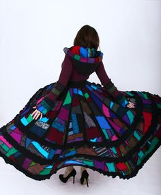 Empress Sweater Coat - Reserved for Taryn - One of a Kind Dream Coat