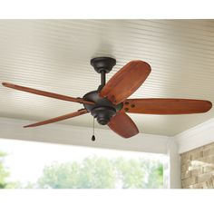home decorators collection 60 in. sudler ridge led ceiling fan