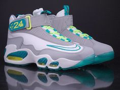 Nike Air Griffey Max 1   White   Turbo Green   Wolf Grey