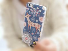 My Little Deer iPhone 5/5S Slim Hard Clear Cell Phone by ATHiNGZ, $9.99