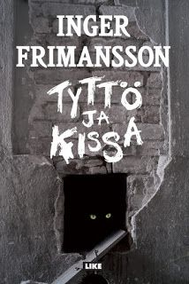 Ullan Luetut kirjat: Inger Frimansson Tyttö ja kissa Kissa, Signs, Signage