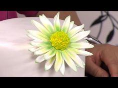 Como hacer flores de lótus en pasta de azucar - Hogar Tv por Juan Gonzalo Angel - YouTube