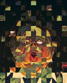 Scanners, criterion collection, movies, Connor Willumsen's Face-Melting Scanners Artwork   Posterocalypse