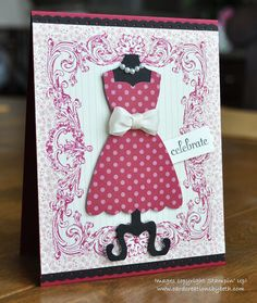 Card Creations by Beth: All Dressed Up; Stampin Up